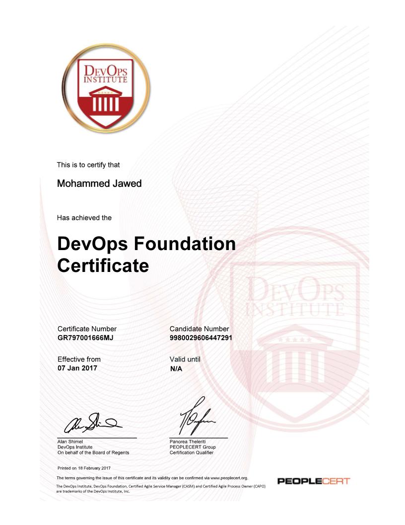The Rise Of Devops Certificate Devops With Md
